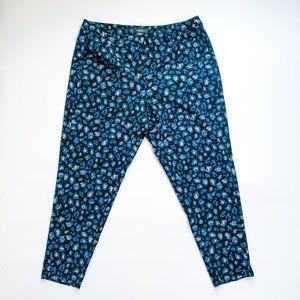 Michel Studio Printed Tapered Dress Pants
